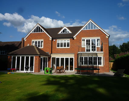 New six-bedroom house in Beaconsfield
