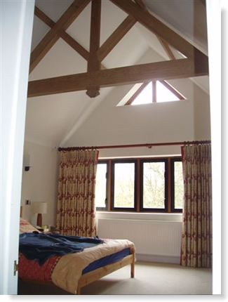 Beaconsfield House Extension Bedroom Interior